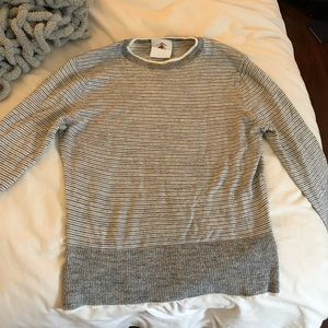 brook brothers knit striped sweater